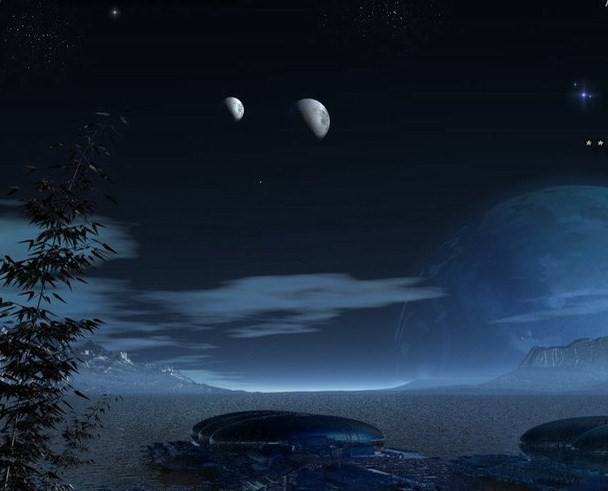 db_Moon_over_Seraphina_III-x1 - Alienplanet 1